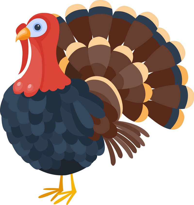 A Turkey clipart
