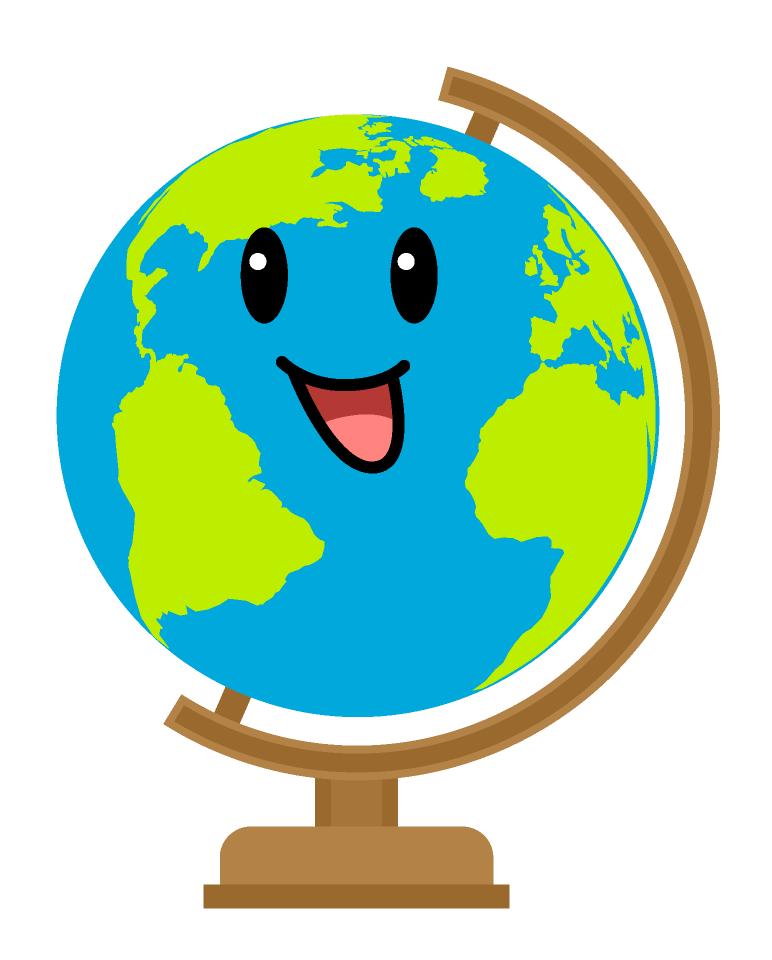 Cartoon Globe clipart
