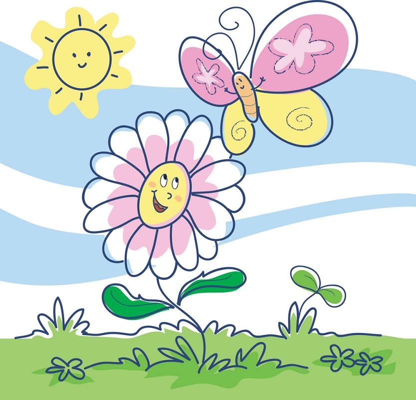 Cartoon Spring clipart