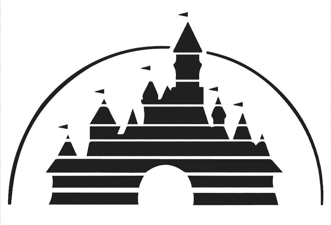 Disney Castle Silhouette clipart 1
