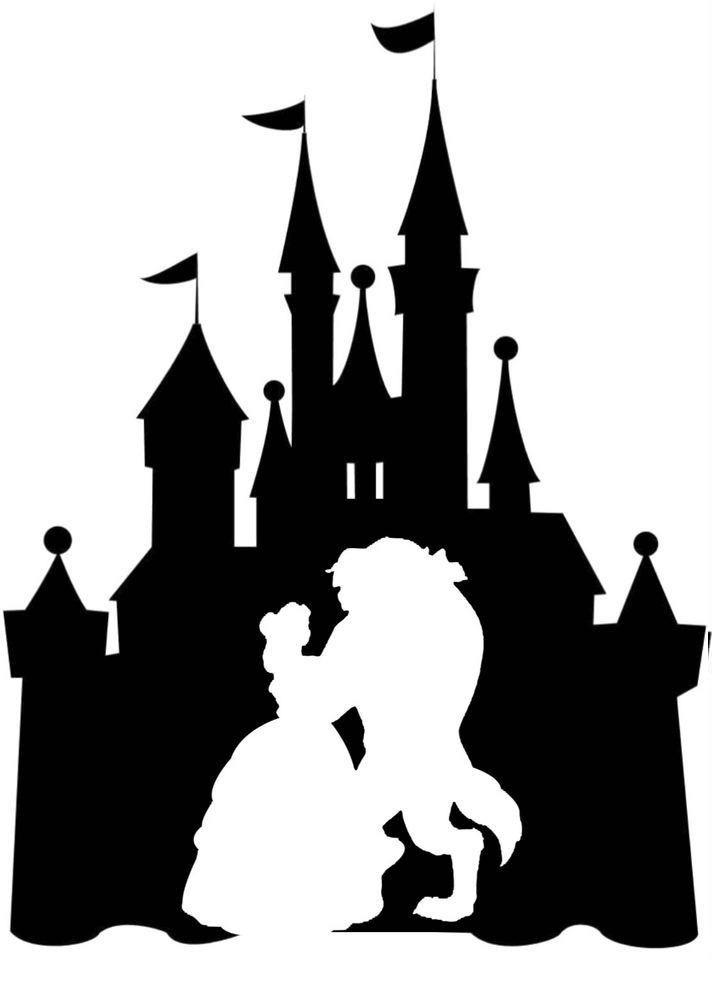Disney Castle Silhouette clipart 4
