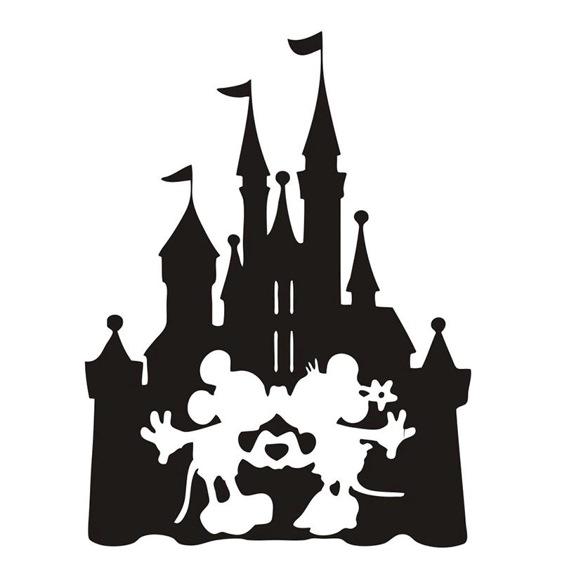Disney Castle Silhouette clipart 5