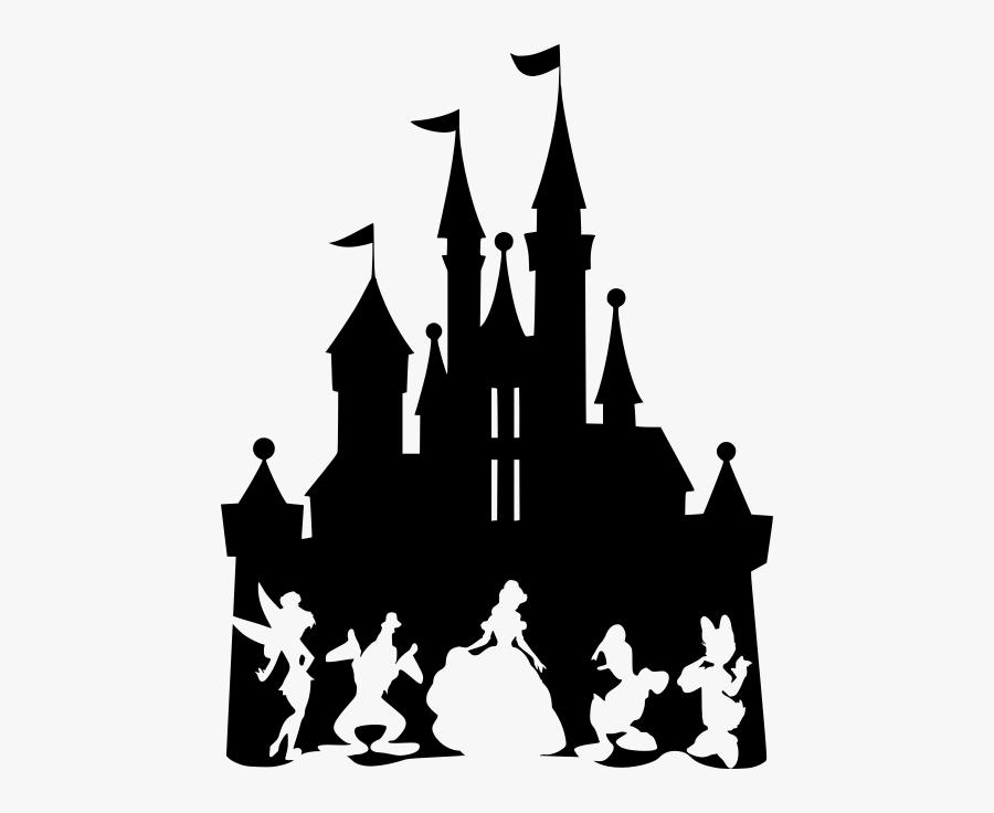 Disney Castle Silhouette clipart 8