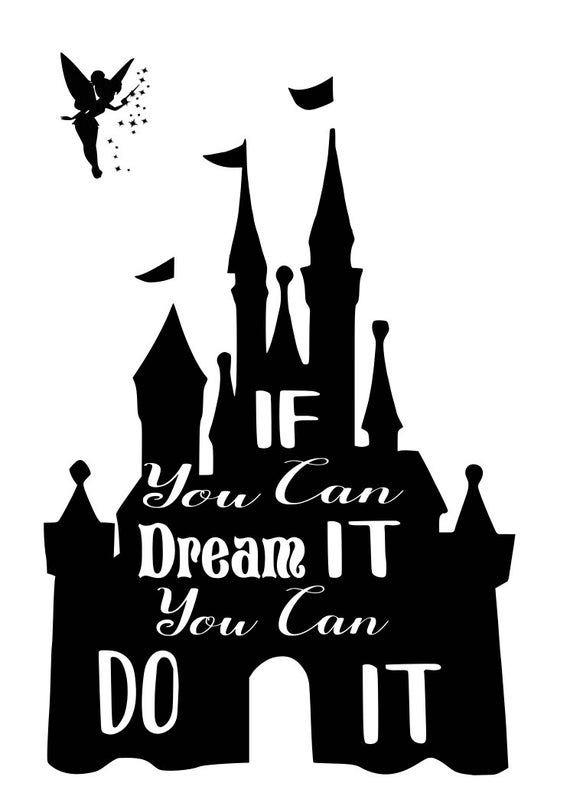 Disney Castle Silhouette clipart 9
