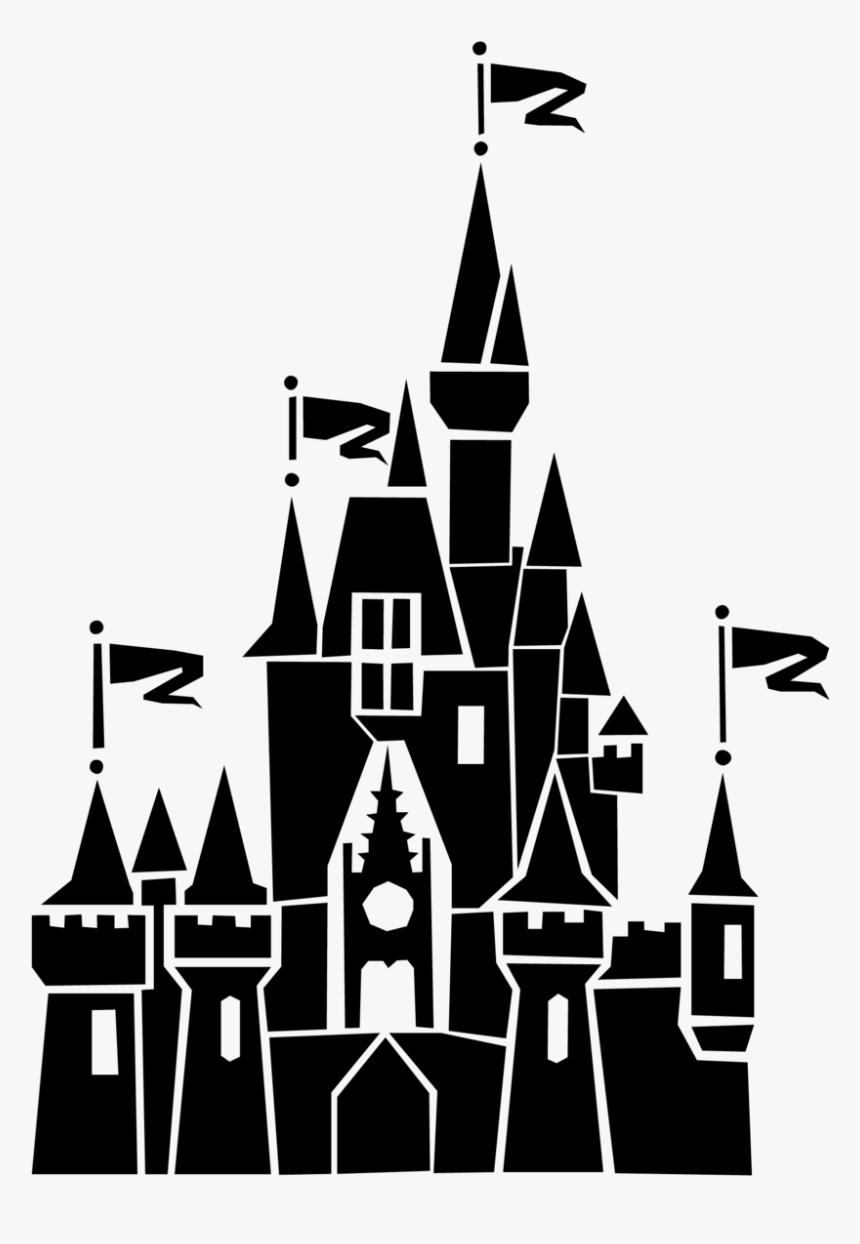 Disney Castle Silhouette clipart