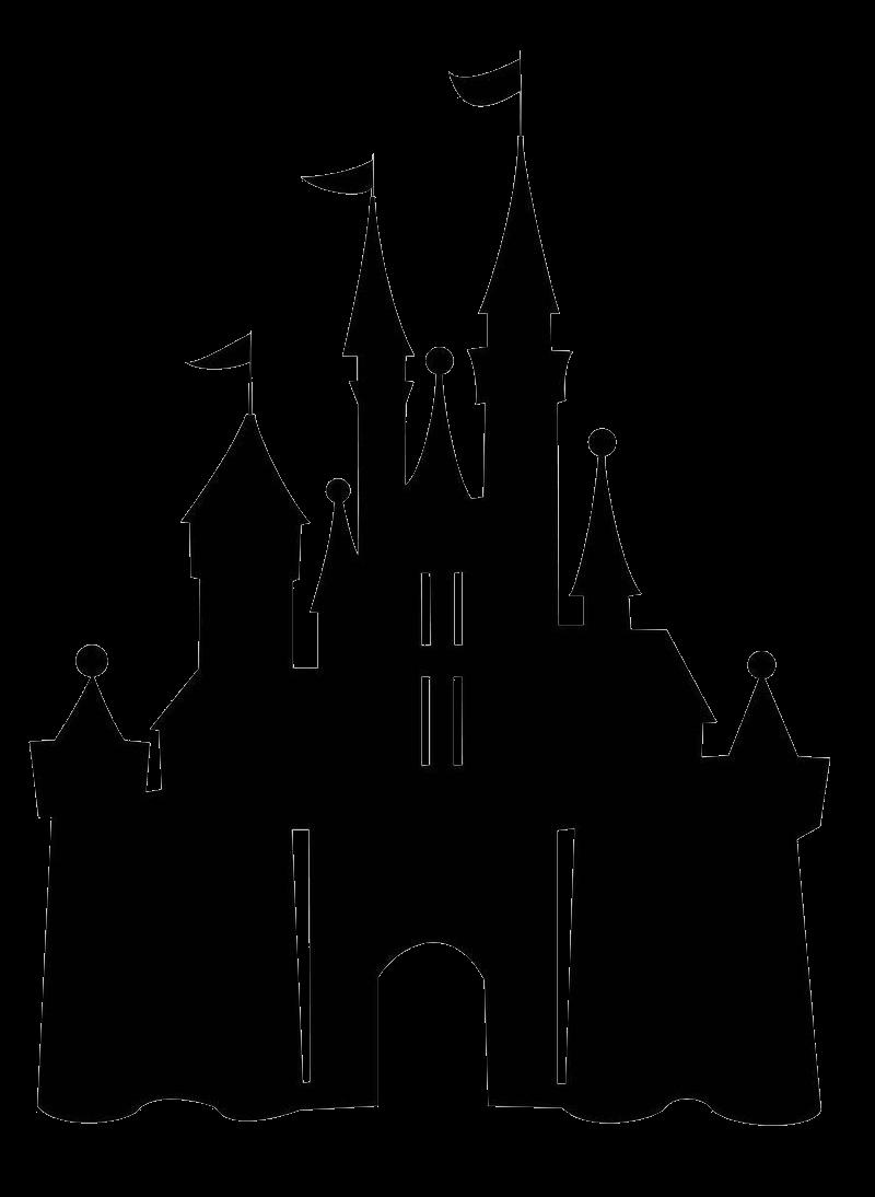 Disney Castle Silhouette transparent