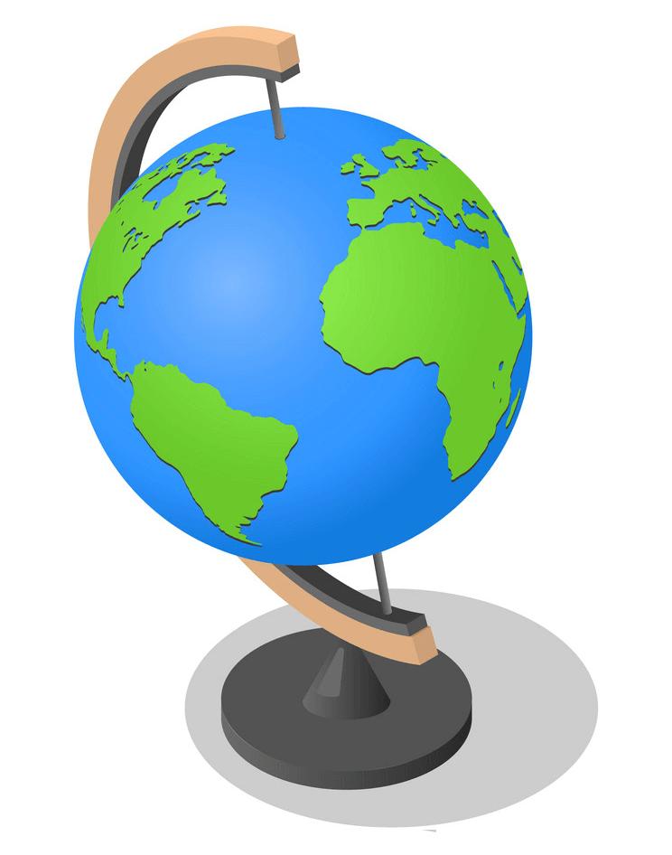 Earth Globe clipart 1