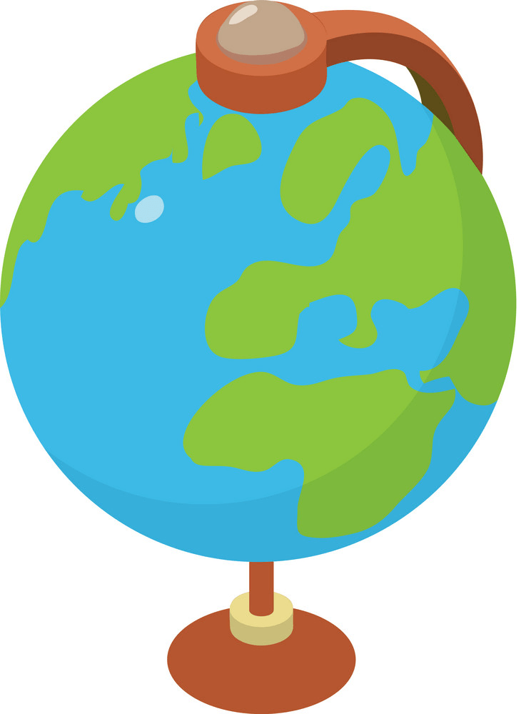 Earth Globe clipart 2