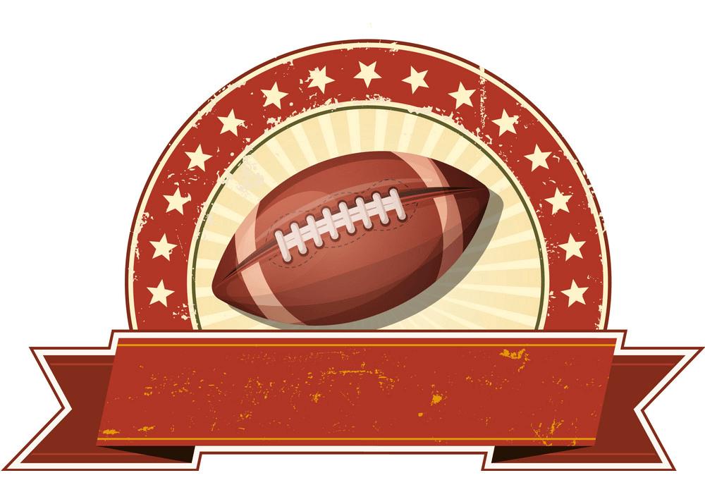 Football Banner clipart