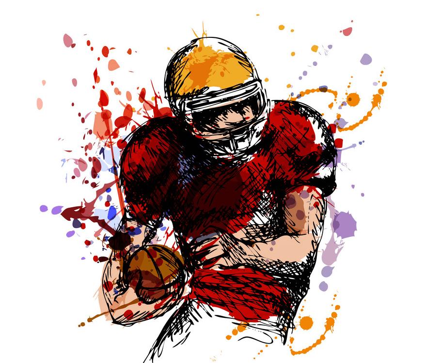 Football clipart 2