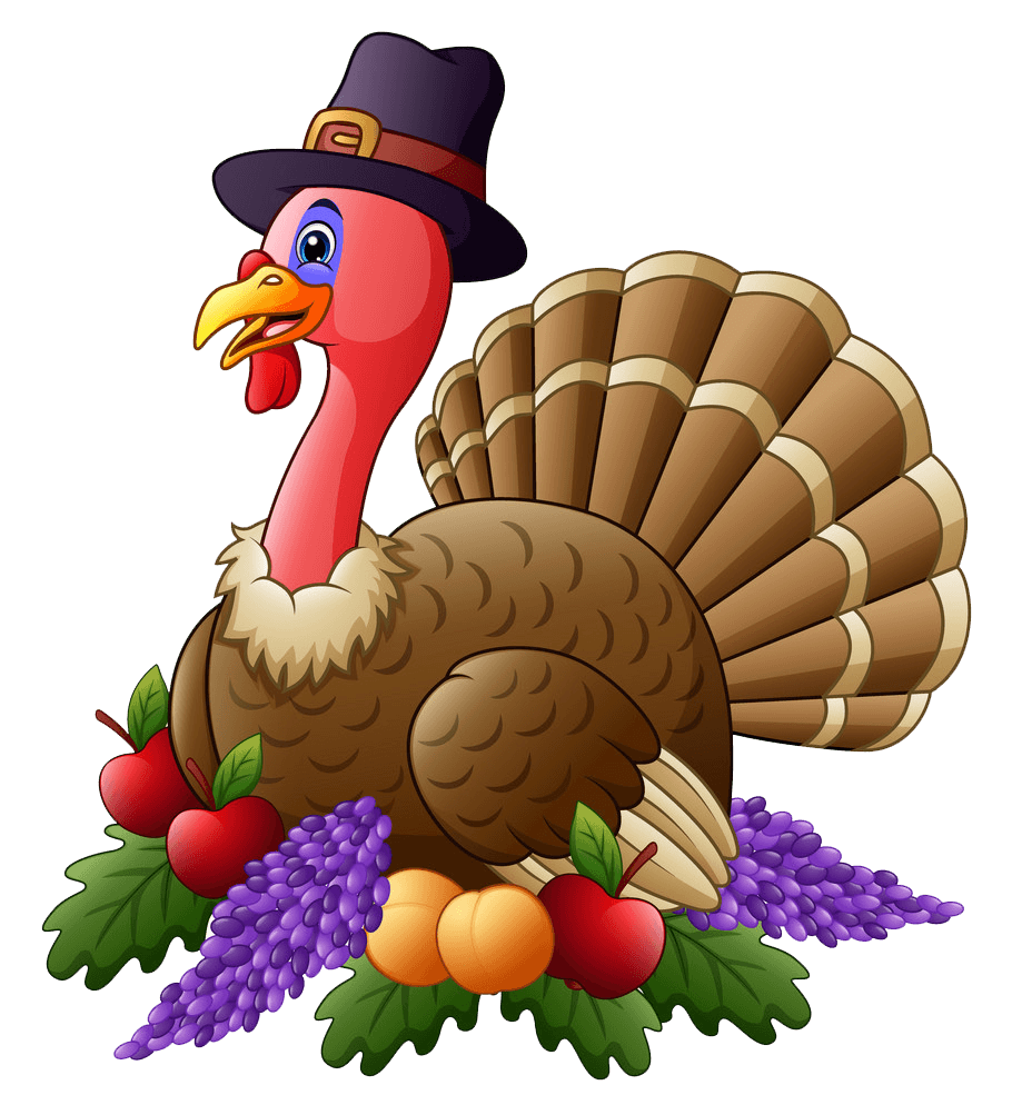 Fruits with Turkey clipart transparent