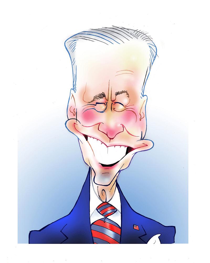 Funny Joe Biden clipart