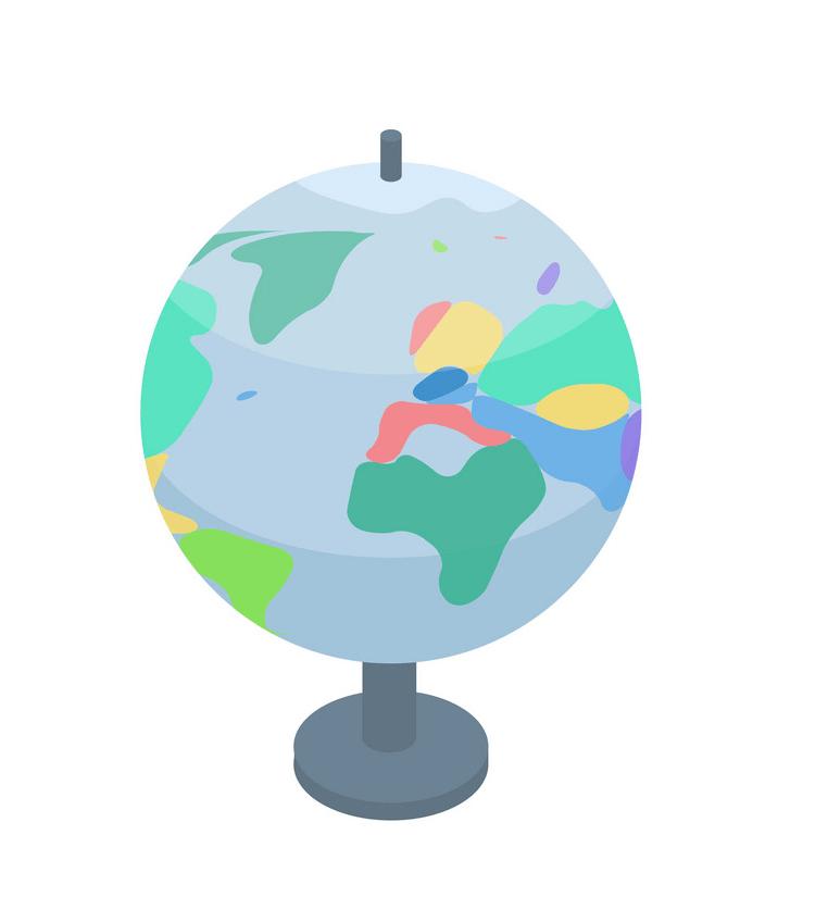 Globe Icon clipart