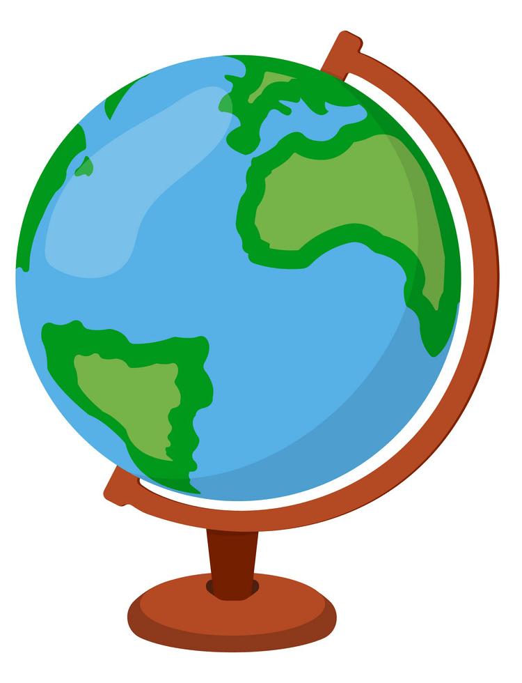 Globe clipart 1
