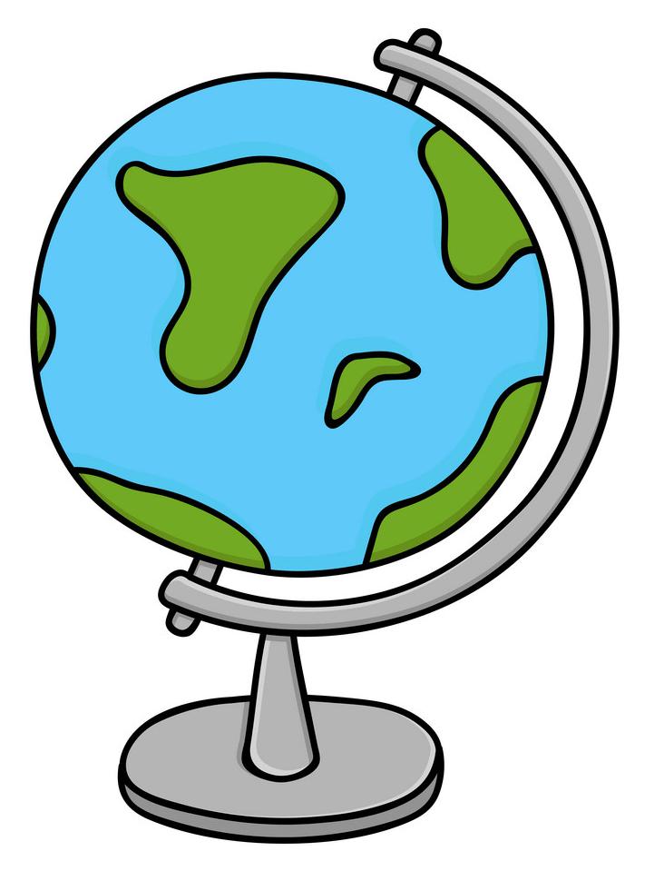 Globe clipart 5