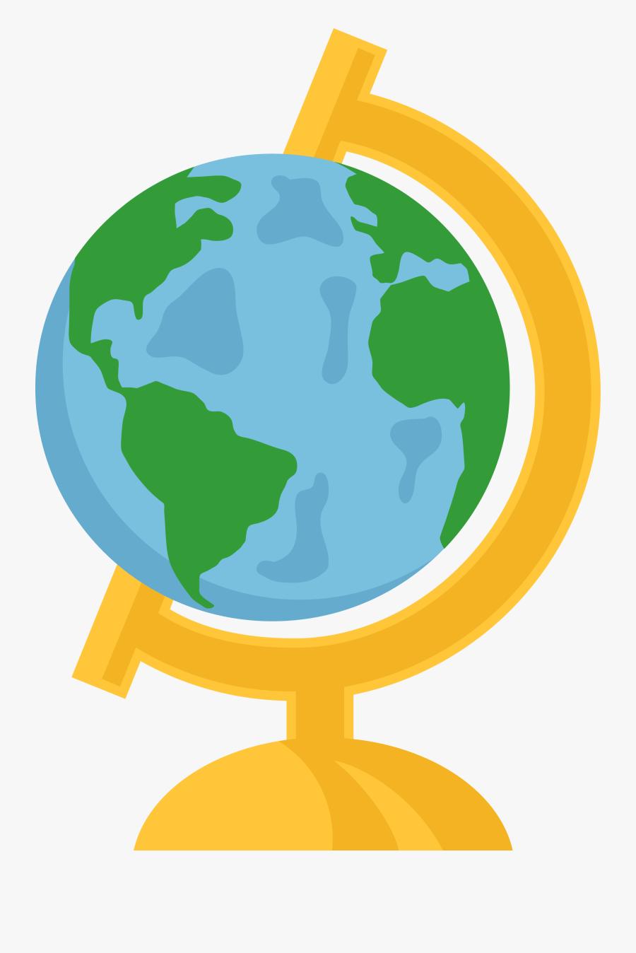 Globe clipart 7
