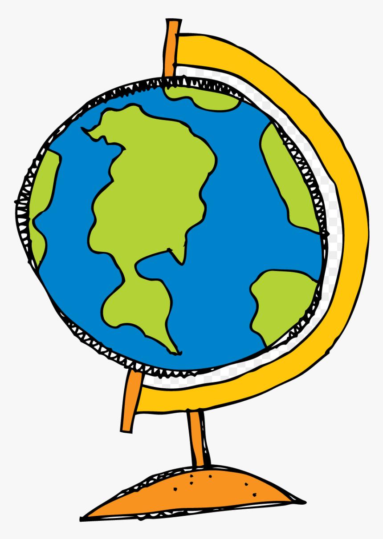 Hand Drawn Globe clipart