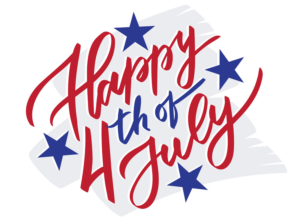 Happy 4th of July clipart 1