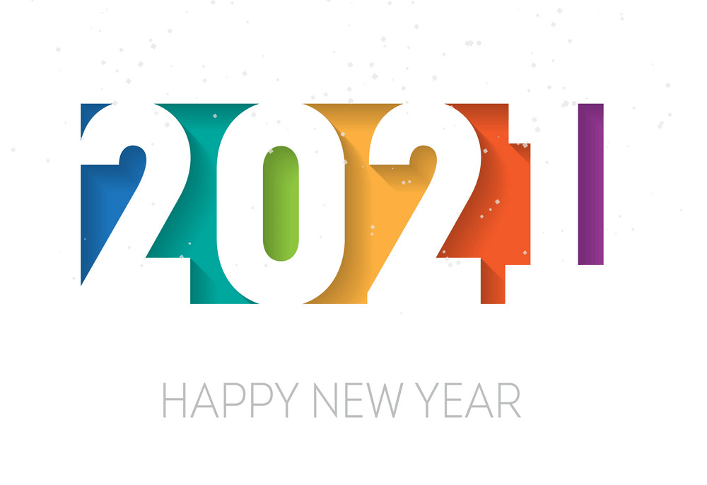 Happy New Year 2021 clipart 1