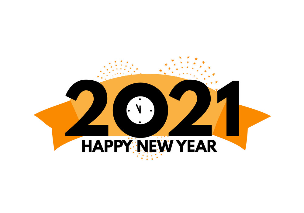 Happy New Year 2021 clipart 3