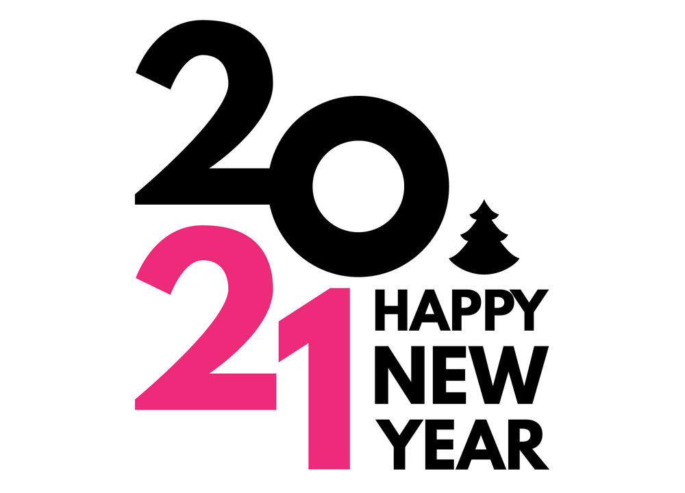Happy New Year 2021 clipart 4