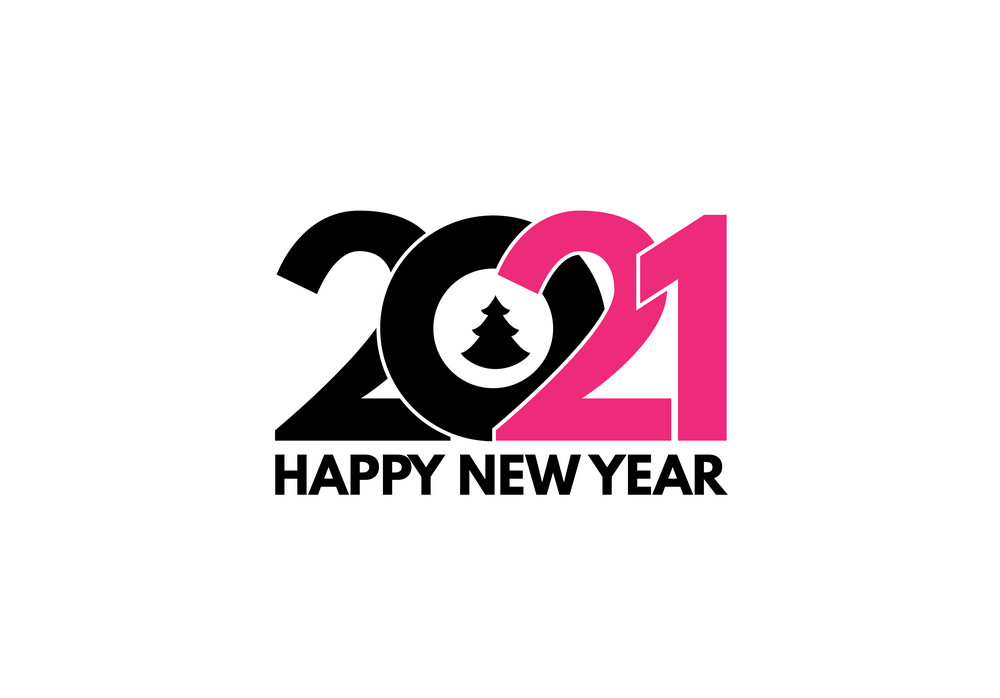 Happy New Year 2021 clipart 6