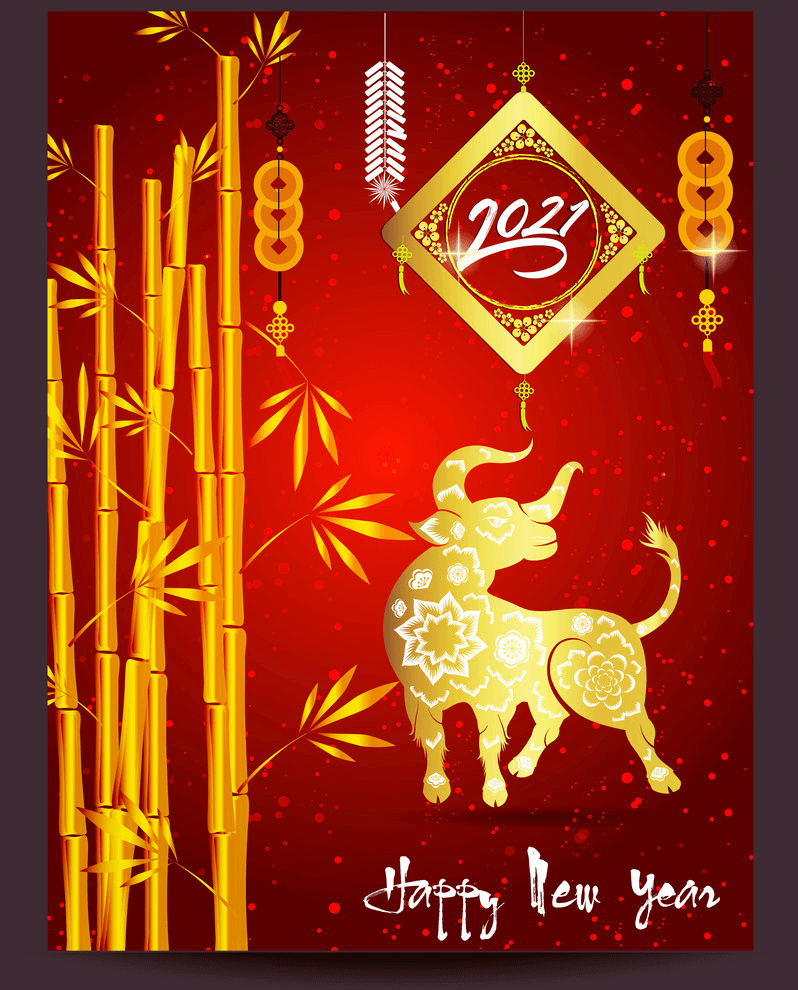 Happy New Year 2021 clipart 7