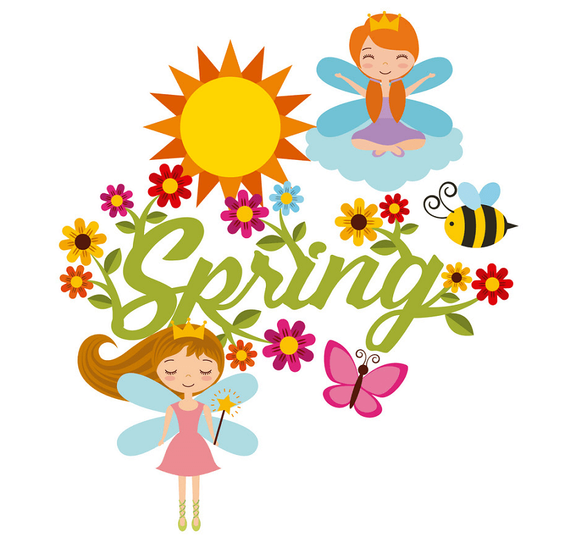 Happy Spring clipart