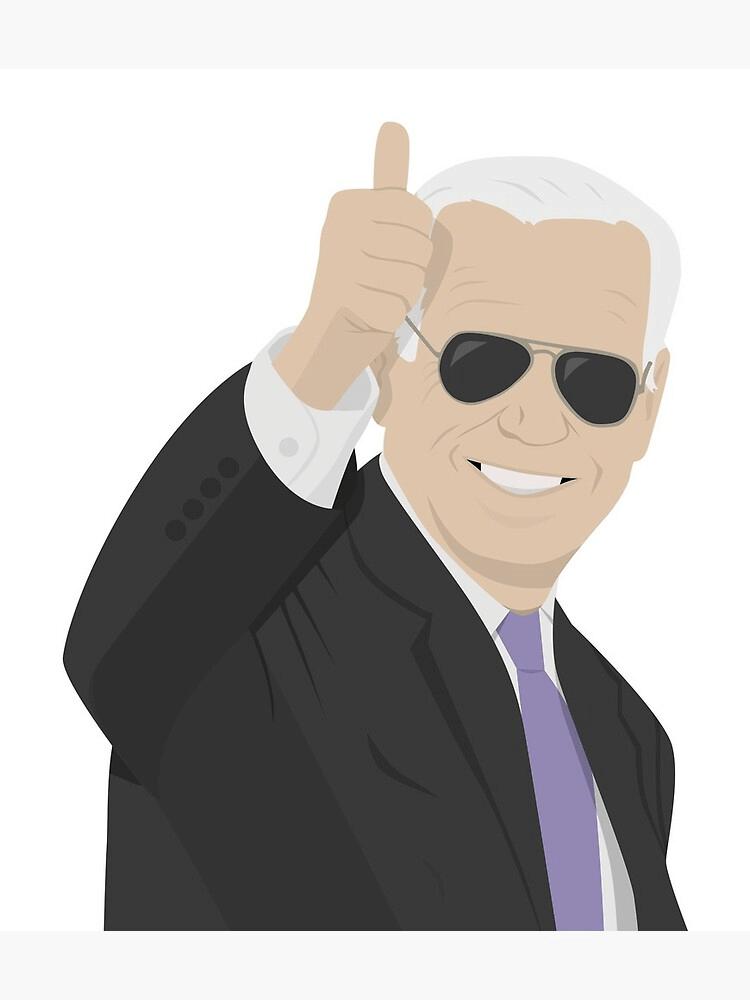 Joe Biden Thumbs Up clipart