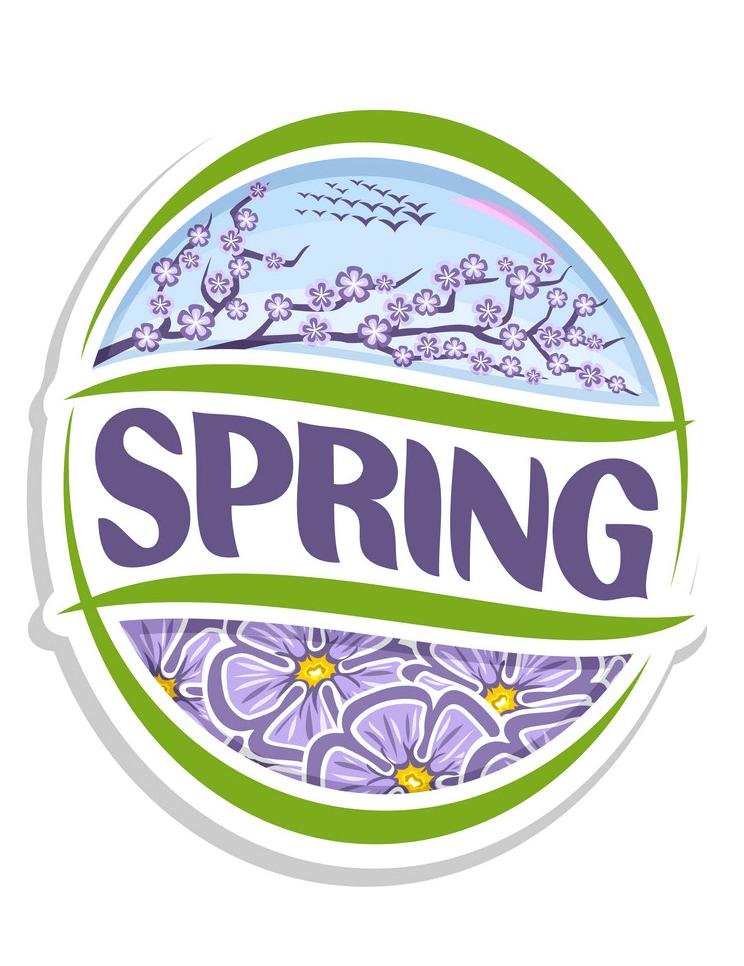 Logo Spring clipart