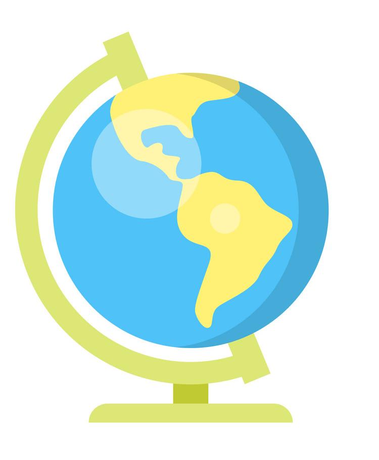 School Globe clipart 2