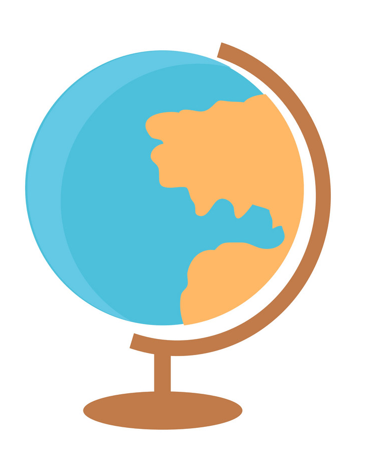 Simple Globe clipart