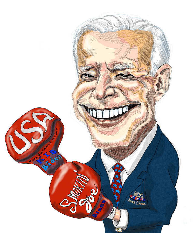 Smokin Joe Biden clipart
