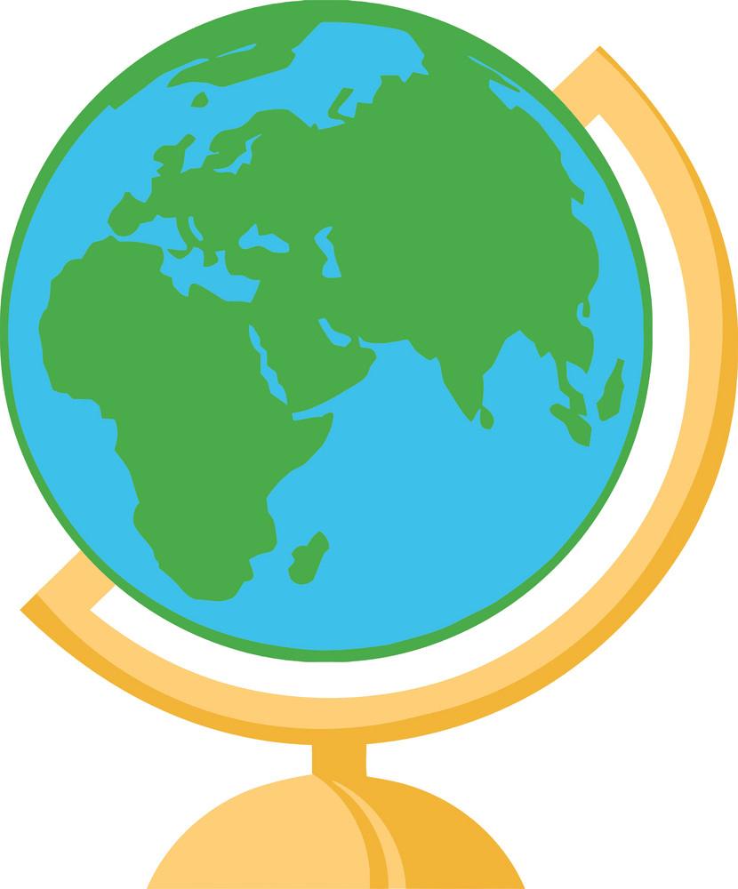 Terrestrial Globe clipart