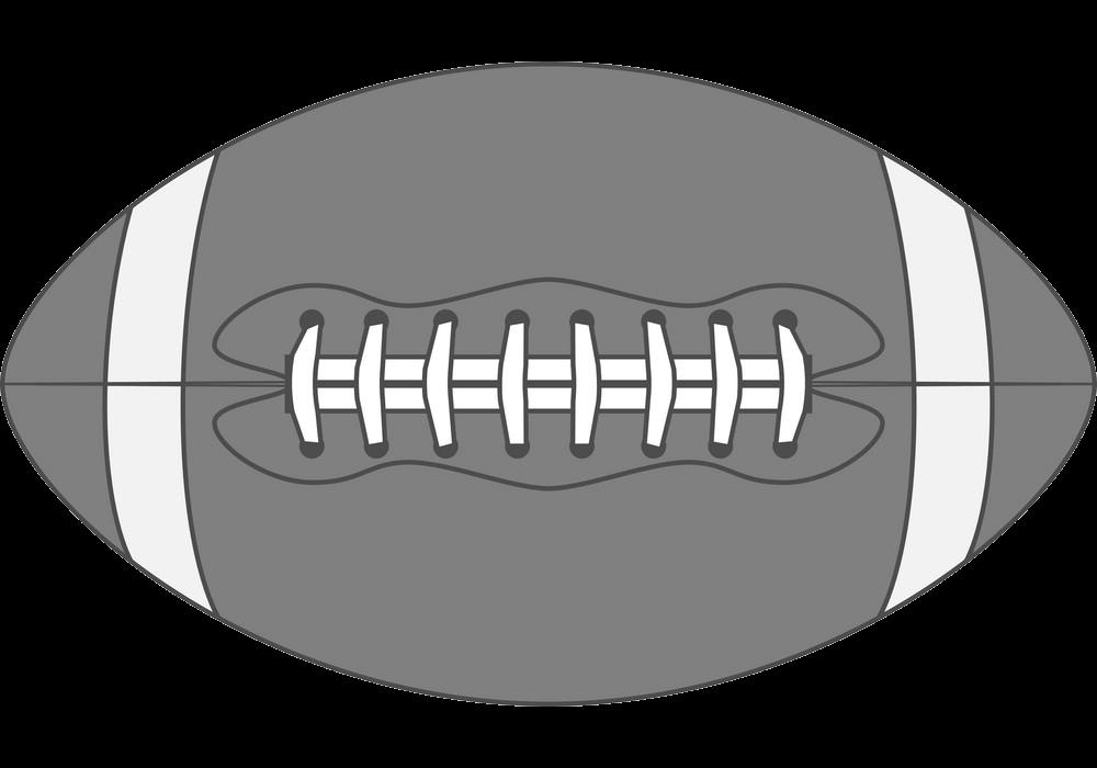 Vintage Football Ball transparent