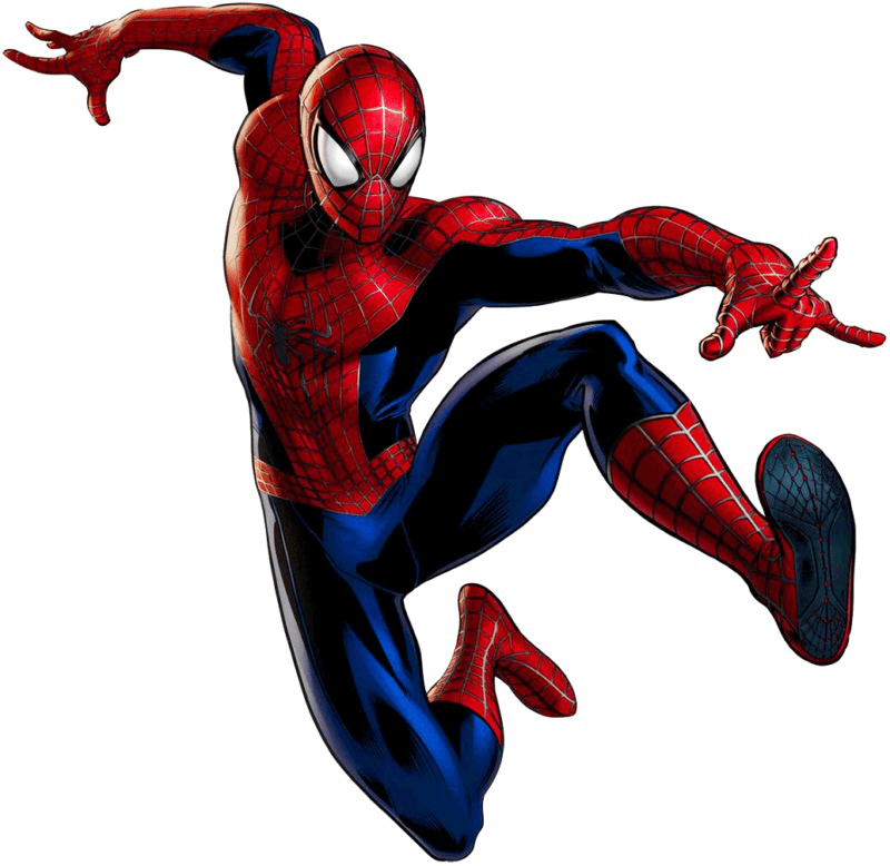 Action Move Spiderman clipart