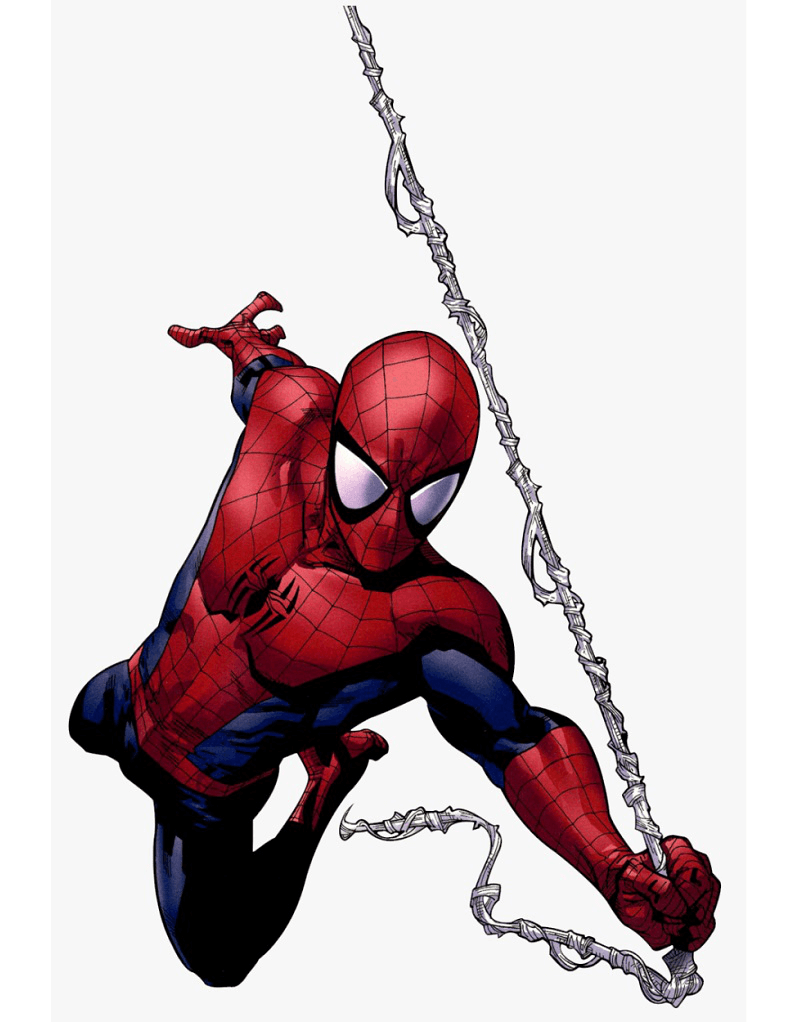 Action Spiderman clipart