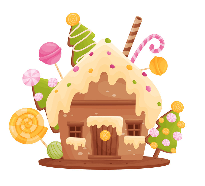 Gingerbread House Clipart Clipart World
