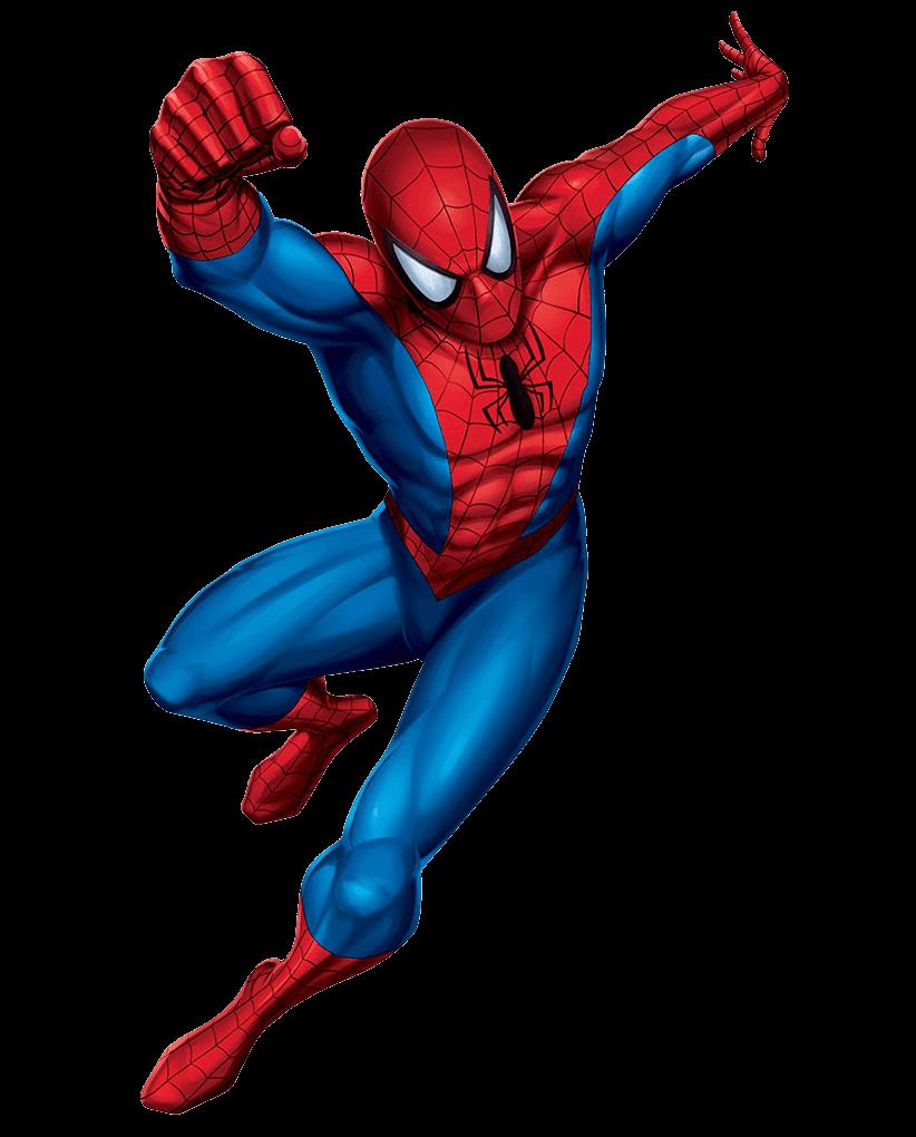 Amazing Spiderman clipart tranparent