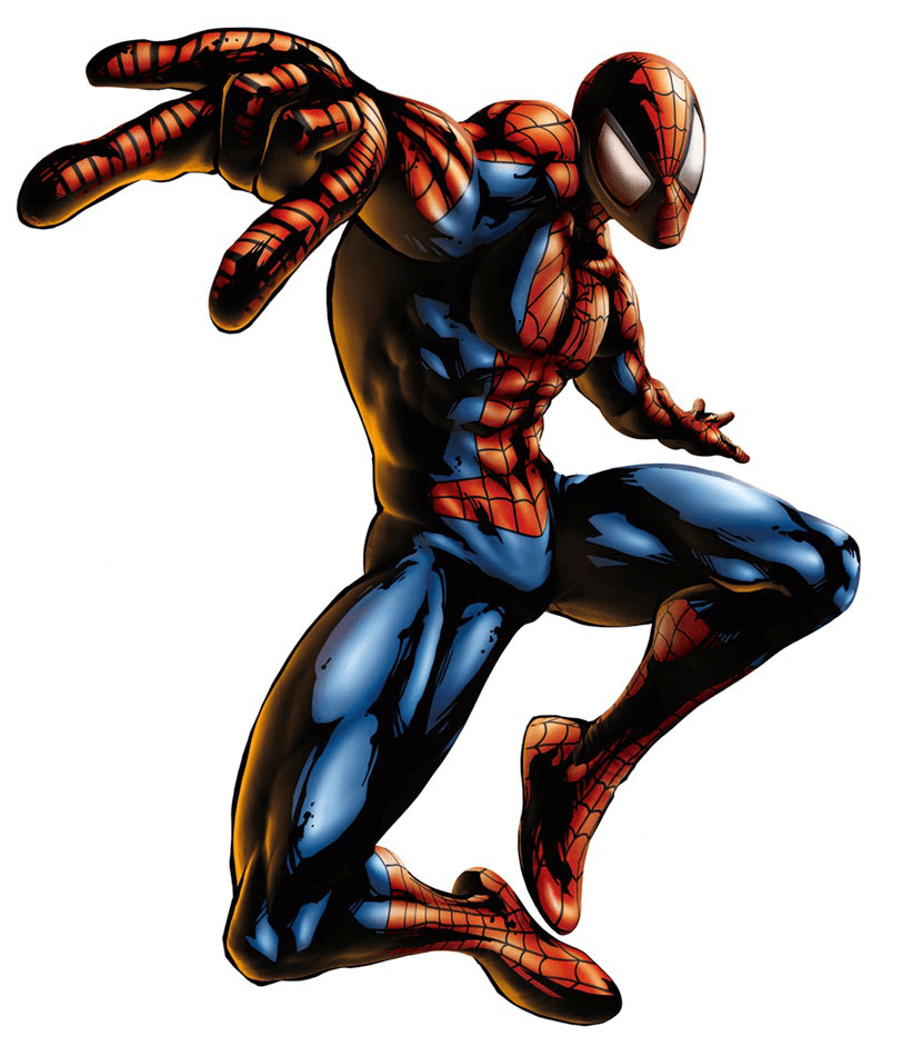Awesome Spiderman clipart