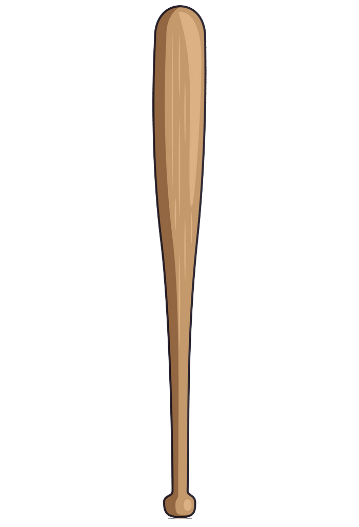 Baseball bat clipart transparent 3