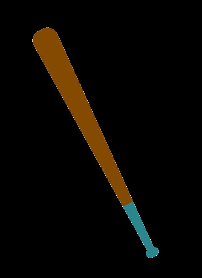 Baseball bat clipart transparent 4