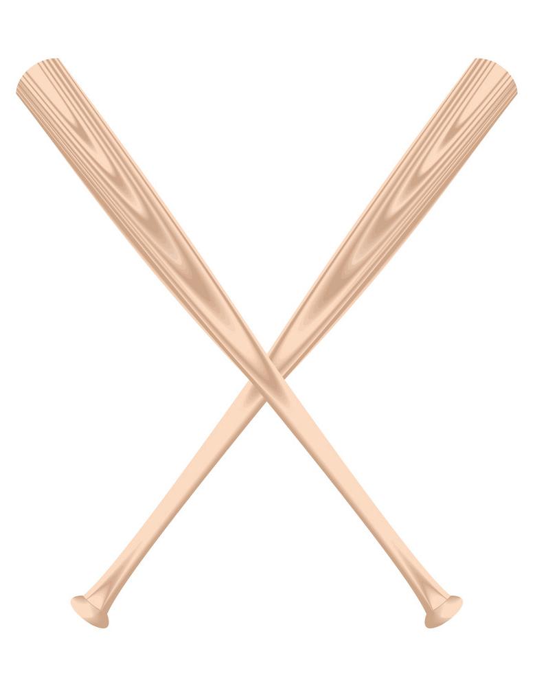 Baseball bats clipart