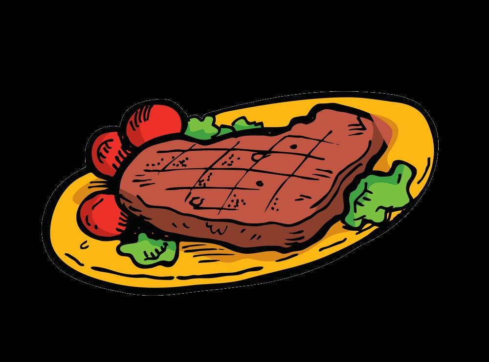 Beef Steak clipart transparent 1
