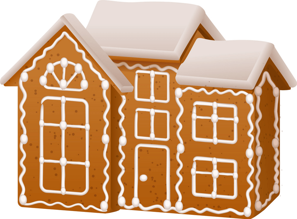 Big Gingerbread House clipart
