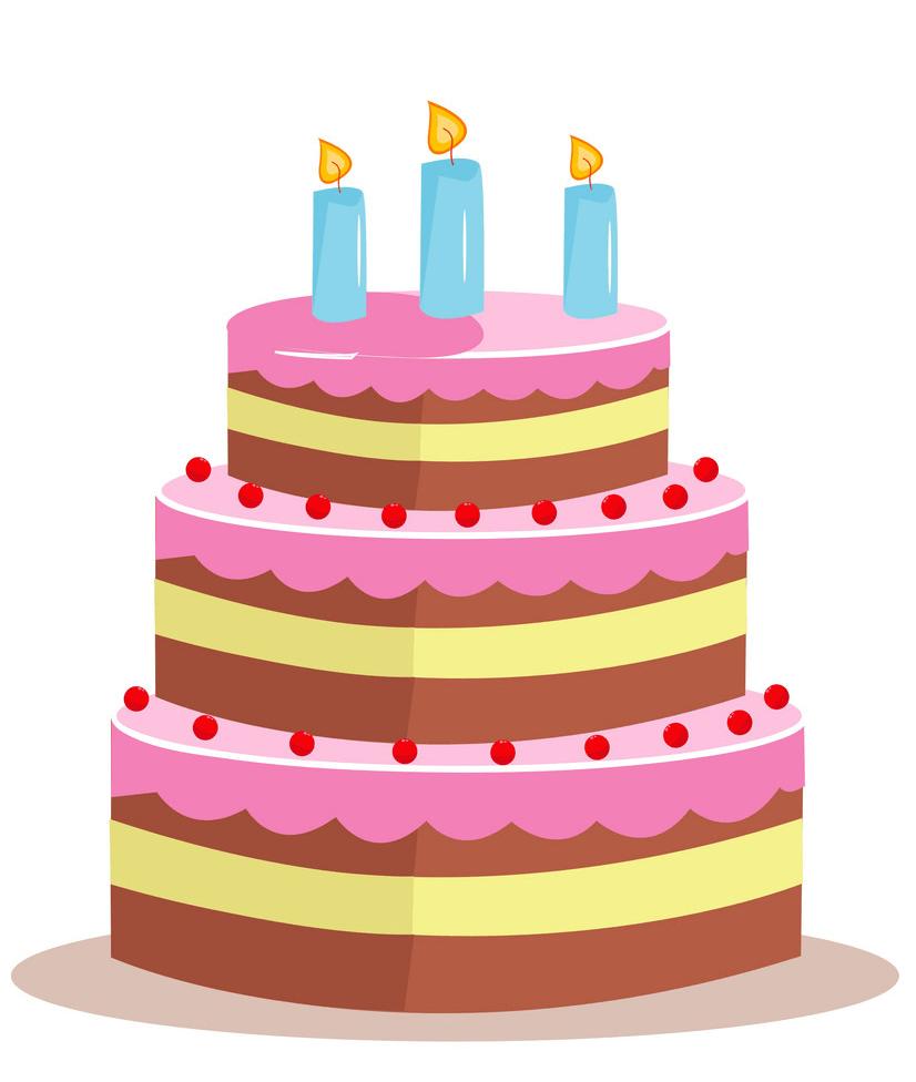 Birthday Cake clipart 1