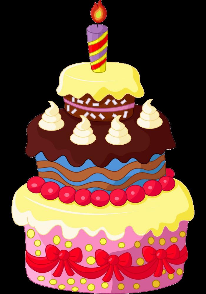 Birthday Cake clipart transparent 1
