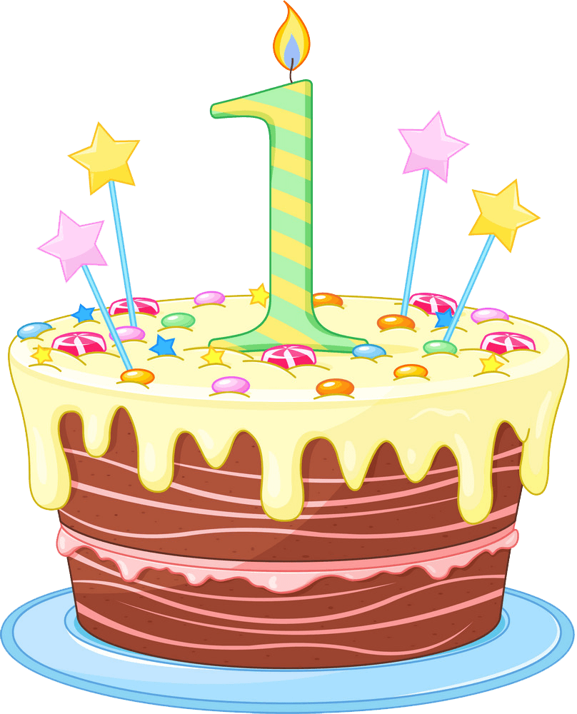 Birthday Cake clipart transparent 2