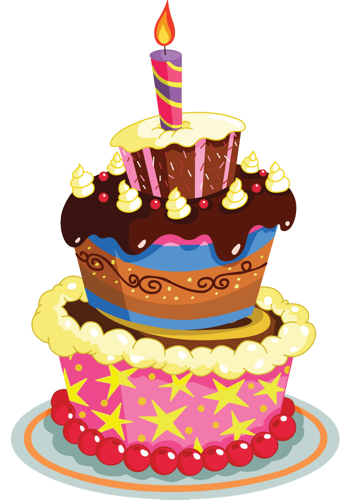 Birthday Cake clipart transparent