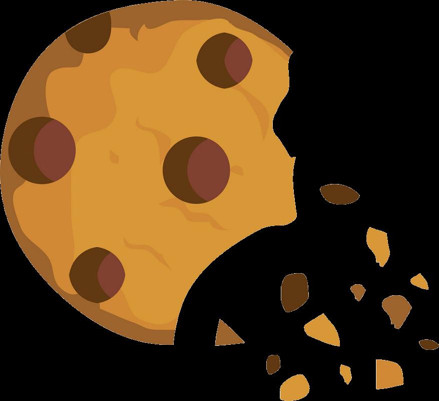 Broken Cookie clipart transparent